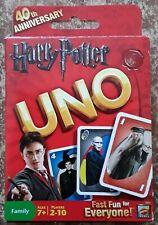 Harry Potter Uno 40th Anniversary Edition Rare