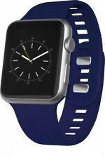 Silicone Sport Band for Apple Watch ® 42mm, Midnight Blue WESC04208-MSRP $19.99