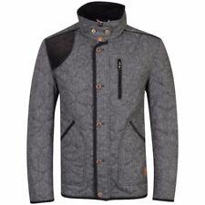 Tokyo Laundry mens Kabru Quilted jacket (greyblack) Medium M BNWT