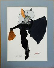 Vintage Furry Character Animation Cel Drawing Robert Hill Art 1991