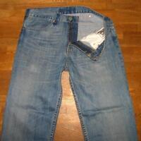 "LEVI`S JEANS / LEVIS Blue- Jeans in blau ohne Gürtelschlaufen in ca. W34"" /L33"""