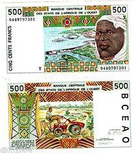 TOGO WEST AFICAN STATES AFRIQUE OUEST Billet 500 Francs 1994  810T NEUF UNC