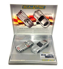 Scalextric C2783A Mercedes Benz 722 1955 Mi Miglia Coffret Voiture Set Limited Ed