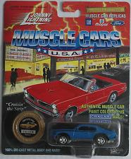 Johnny Lightning -'69/1969 Pontiac GTO Judge Blu Nuovo/Scatola Originale