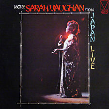 More SARAH VAUGHAN  Live In Japan US Press Mainstream MRL 4191975 LP