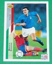 FOOTBALL CARD UPPER DECK 1994 USA 94 ROBERTO DONADONI ITALIA ITALIE SQUADRA