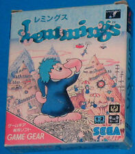 Lemmings - SEGA Game Gear GameGear JAP JAPAN