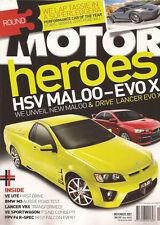 Motor Nov 07 C280 335i A4 3.2 HSV R8 Ute VE Commodore SS S80 V8 Lanxer VRX M3