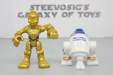 Disney Playskool Star Wars Galactic Heroes Astromech Droid R2D2 C3PO 2 Pack