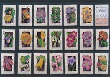 LM77172 USA flowers nature fine lot MNH fv 5,8 $
