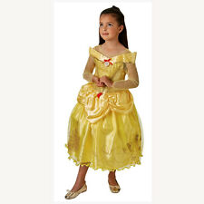 Belle and The Beast Ballgown Kids Costume Halloween Party Fancy Dress Small (3 )