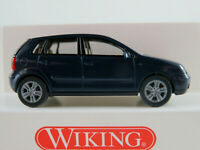 Wiking 03403 VW Polo IV (2001-2005) in stahlblau 1:87/H0 NEU/OVP