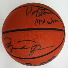 Michael Jordan & Dennis Rodman Autographed Wilson Basketball UDA ASI