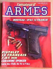 L'AMATEUR D'ARMES N° 59 / FUSIL,CARABINE,PISTOLET,REVOLVER,COLT,COUTEAU,TIR
