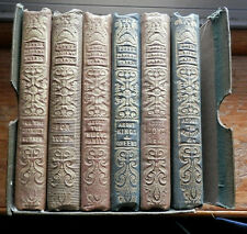 Peter Parley's Tales -- Very Rare 6 vol. Set 1845 -- Richard Bowyer Publisher