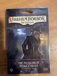 Barkham Horror The Meddling of Meowlathotep Arkham Horror LCG OOP