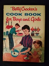 Vintage Betty Crocker's Cookbook for Boys And Girls(1957)