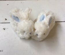 BN Doudou Et Compagnie Mon Tout Petit Baby Boy Bunny Booties Without Box