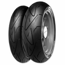 120/70ZR 17, 180/55ZR 17 CONTINENTAL SPORT ATTACK FRONT REAR TIRE KIT - 2 TIRES