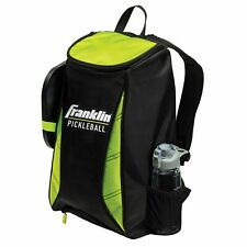 Franklin Sport Premium Pickleball Backpack  Black Optic Green