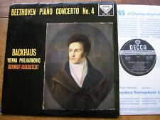 SXL 2010 BEETHOVEN: PIANO CONCERTO No. 4  BACKHAUS / VPO / ISSERSTEDT  ED1  NM