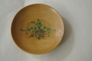 ANTIQUE WOODEN PIN TRAY/TRINKET DISH or MAYBE FOR CUFF LINKS