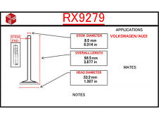 Engine Exhaust Valve ITM RX9279
