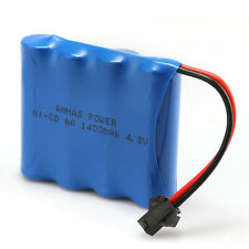 High Capacity Rechargeable Battery 4.8V 1400mAh RC Ni-Cd SM 2Pin Plug AA Toy Car