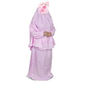 2-tlg Islamische Gebetskleidung Khimar, Abaya Burka mit langarm Prayer Clothes