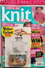 Knit Now Issue 106 Wallace & Gromit Essential Knit Kit FREE SHIPPING CB