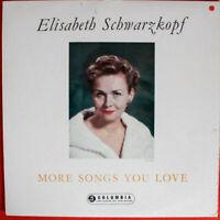 Elisabeth Schwarzkopf , Sir Charles Mackerras - More Songs You Love (LP)