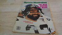 8/23/82  Sports Illustrated Magazine - Franco Harris Pittsburgh Steelers - EX