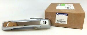 RAM 1500 2500 3500 4500 front driver side exterior silver chrome Door Handle OEM