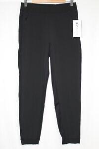 Athleta Women's Textured Brooklyn Jogger Pants Size 6 Black #566689