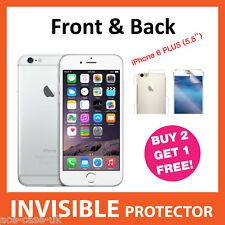 iPhone 6 PLUS (5.5'') INVISIBLE Screen Protector Shield FRONT & BACK Full Body