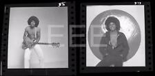 2 Jermaine Jackson Michael's Brother Harry Langdon Negative w/rights Lot 566B