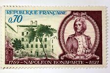 TIMBRE FRANCE NEUF LUXE N° 1610 ** MNH NAPOLEON BONAPARTE MAISON NATALE AJACCIO