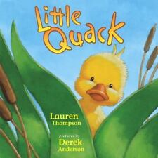 Little Quack, Thompson, Lauren,0689847238, Book, Good