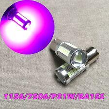 Rear Turn Signal 1156 BA15S 1141 7506 P21W 33 SMD LED bulb Purple Pink W1 J