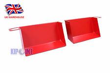For BMW E90 E91 E92 E93 X1 E84 Air Scoop Aluminum Red 335i 328i 320i 330d In UK