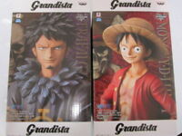 "Banpresto One Piece Grandista figure ""Luffy & Law"" 2 set Japan F/S NEW"