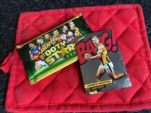 Select 2021 BANG Hawks James Worpell Card Pack Fresh 080/210