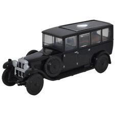 Oxford Diecast Daimler Hearse Black 76RDH001 OO Scale (suit Ho)