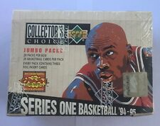 1994-95 Collector's Choice Series 1 Jumbo Basketball Box Factory Sealed 20 Pack