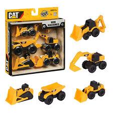 5-Pack Caterpillar Toy State CAT Construction Mini Machine Car Kids Children