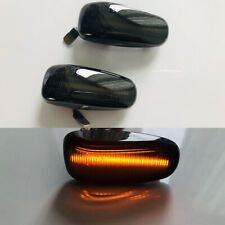2x Dynamic Flowing Side Marker Lights For Mercedes Benz W208 W210 R170