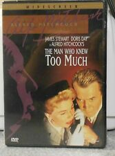 The Man Who Knew Too Much (DVD 2001) RARE 1956 DRAMA CRIME THRILLER BRAND NEW