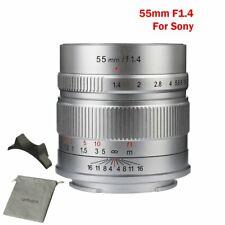 7artisans 55mm F1.4 APS-C Manual Stanard Prime Focus E Mount For Sony Camera
