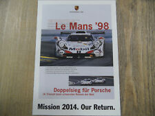 PORSCHE Postkarte Mission 2014 Our Return Nr. 5 SR318