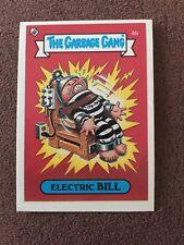 The Garbage Gang Electric Bill 4b 1985 Card Sticker Vintage